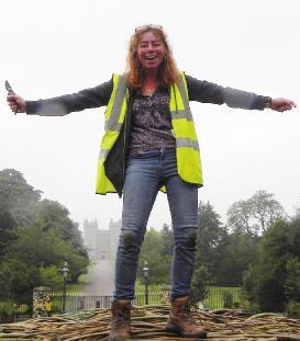 Mel Bastier on Coronation arch