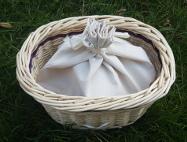 Drawstring ashes bag